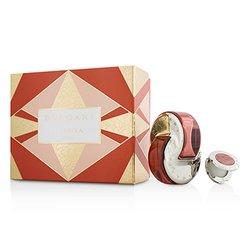 Bvlgari Omnia Coral Coffret: Eau De Toilette Spray 65ml/2.2oz + Solid Perfume 1g/0.03oz  2pcs