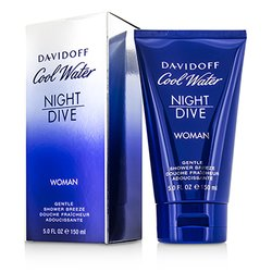 Davidoff Cool Water Night Dive Gentle Shower Breeze  150ml/5oz