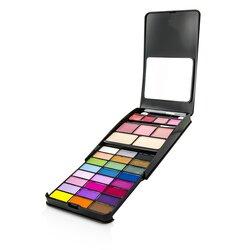 Cameleon Set Maquillaje G2210A (24x Color Ojos, 2x Polvo Compacto, 3x Color Mejillas, 4xBrillo Labios)