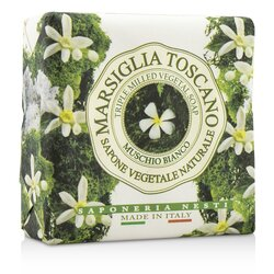 Nesti Dante Marsiglia Toscano Triple Milled Vegetal Soap - Muschio Bianco  200g/7oz