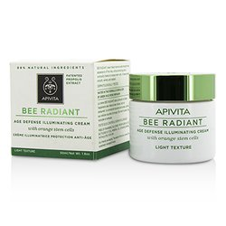 Apivita Bee Radiant Age Defense Illuminating Cream - Light Texture  50ml/1.76oz