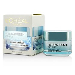 L'Oreal Hydrafresh Genius Multi-Active Essence Cream  50ml/1.7oz