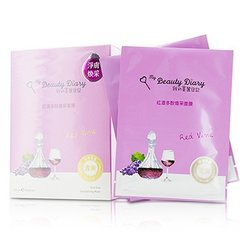 My Beauty Diary Mask - Red Vine Revitalizing (Radiance & Revitalizing)  8pcs