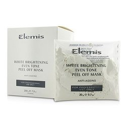 Elemis White Brightening Even Tone Peel Off Mask - Salon Product  10x20g/0.7oz