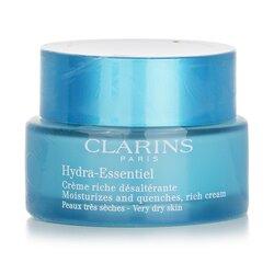 Clarins Hydra-Essentiel Moisturizes & Quenches Rich Cream - Very Dry Skin  50ml/1.8oz