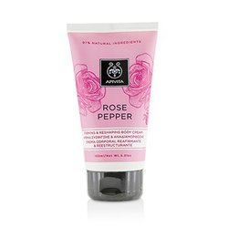 Apivita Rose Pepper Firming & Reshaping Body Cream  150ml/5.31oz