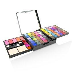 Cameleon MakeUp Kit Deluxe G2363 (66x Eyeshadow, 5x Blusher, 2x Pressed Powder, 4x Lipgloss, 3x Applicator)
