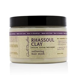 Carol's Daughter Rhassoul Clay Active Living Haircare Softening Hair Mask (For Overworked & Over-washed Hair)  340g/12oz