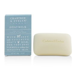 Crabtree & Evelyn Goatmilk Comforting Triple Milled Soap  100g/3.5oz