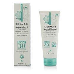 Derma E Natural Mineral Sunscreen Broad Spectrum SPF 30 - Body  113g/4oz