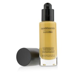 BareMinerals BarePro Performance Wear Liquid Foundation SPF20 - # 19 Toffee  30ml/1oz