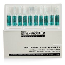 Academie Specific Treatments 1 Ampoules Oligo-Elements - Salon Product  10x3ml/0.1oz