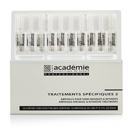 Academie Specific Treatments 2 Ampoules Hyaluronic Acid - Salon Product  10x3ml/0.1oz