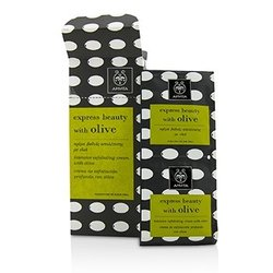 Apivita Express Beauty Intensive Exfoliating Cream with Olive (Box Slightly Damaged)  6x(2x8ml)