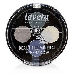 Lavera Beautiful Mineral Eyeshadow Quattro - # 08 Edgy Tones  4x0.8g/0.026oz