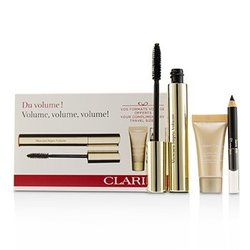 Clarins Mascara Supra Volume Set  3pcs