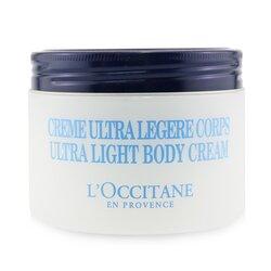 L'Occitane Shea Butter 5% Ultra Light Cream For Body 01CL200K17/480007  200ml/6.7oz