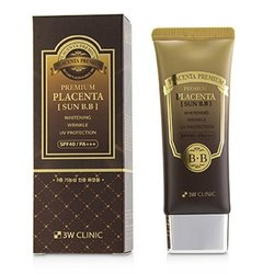 3W Clinic Premium Placenta Sun BB Cream SPF 40/ PA+++  70ml/2.3oz
