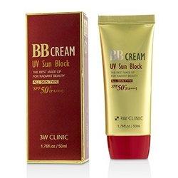 3W诊所  UV Sun Block BB Cream SPF50+ PA+++  50ml/1.76oz