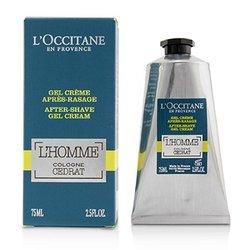 לאוקסיטן L'Homme Cologne Cedrat After Shave Gel Cream  75ml/2.5oz