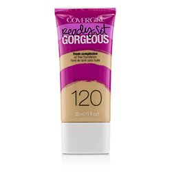 Covergirl Ready Set Gorgeous Oil Free Foundation - # 120 Nude Beige  30ml/1oz
