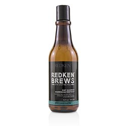 Redken Brews Mint Shampoo (Invigorating For Hair and Scalp)  300ml/10.1oz