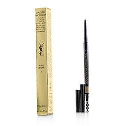 圣罗兰  Couture Brow Slim Waterproof - # 1 Blonde Cendre  0.05g/0.0018oz