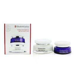 אליזבת ארדן Visible Difference Day & Night Duo: Refining Moisture Cream Complex 100ml/3.4oz+Good Night's Sleep Restoring Cream 50ml/1.7oz  2pcs