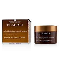 Clarins Delicious Self Tanning Cream For Face & Body  150ml/5.3oz