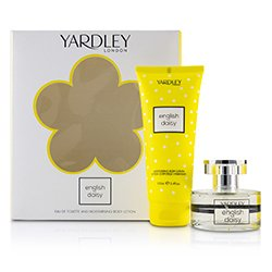 Yardley London Daisy Coffret: Eau De Toilette Spray 50ml/1.7oz + Moisturising Body Lotion 200ml/6.8oz  2pcs