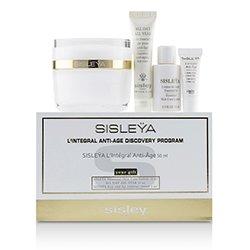 Sisley Sisleya L'Integral Anti-Age Discovery Program: Sisleya Face 50ml, Sisleya Lotion 15ml, Sisleya Eye 2ml, All Day All Year 10ml  4pcs