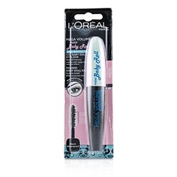 L'Oreal Mega Volume Miss Baby Doll Waterproof Mascara - # Black  9.1ml/0.3oz