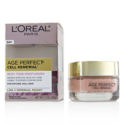 歐萊雅 Age Perfect Cell Renewal Rosy Tone Moisturizer - For Mature, Dull Skin  48g/1.7oz