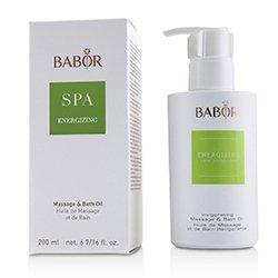 Babor Babor SPA Energizing Massage & Bath Oil  200ml/6.7oz